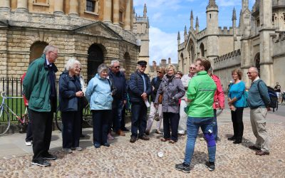 A TRIP BACK IN TIME: Ferndown U3A visit Oxford, Ironbridge and Stratford on Avon